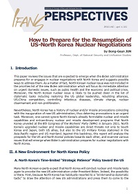 [IFANS PERSPECTIVE]How to Prepare for the Resumption of US-North Korea Nuclear Negotiations